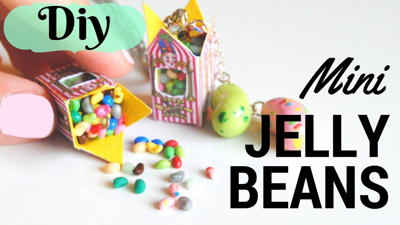 Harry Potter Miniature Bertie Bott\'s Beans-Polymer Clay Tutorial ...