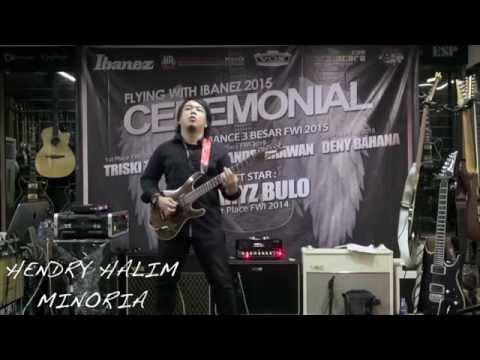 Hendry Halim - Minoria Live At CEREMONY Flying With Ibanez 2015
