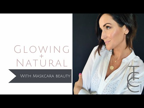Glowing Natural Look With Maskcara Beauty | The Contoured Chemist