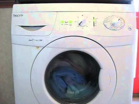 Servis easi logic 1300 washing machine manual.