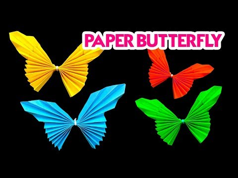 DIY - How To Make Easy Paper Butterfly Origami | Origami Tutorial | Paper Craft