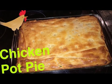 How to Make Fast and Easy: Chicken Pot Pie HOMEMADE TUTORIAL