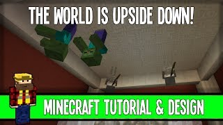 The World Is UPSIDE DOWN! - Adventure Map Inspiration - Minecraft