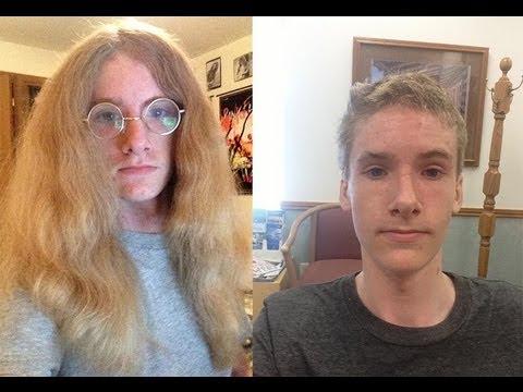 Hippie Donates Hair to Locks Of Love
