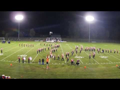 Shawano High School Marching Band Performing the original movie theme from Batman