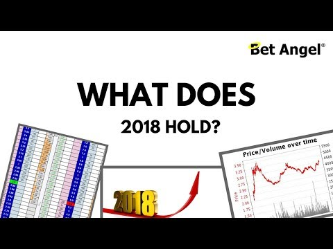 Peter Webb, Bet Angel - What will I be up to in 2018?