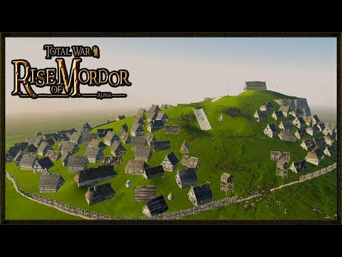 Grand Siege Of Edoras - Lord Of The Rings - Rise Of Mordor Total War