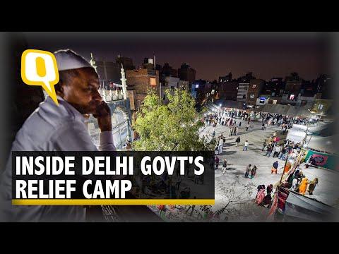 Delhi Violence Survivors Battle Rain, Grief & Apathy in Relief Camps | The Quint