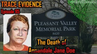Annandale Jane Doe - Trace Evidence #95