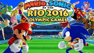 Mario & Sonic Rio 2016 Olympic - Gameplay #24 (ENDING)