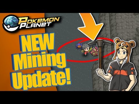 Pokemon Planet - New Update Mining!