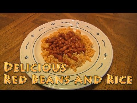 Red Beans and Rice - AMAZING! feed 9 for $2.50