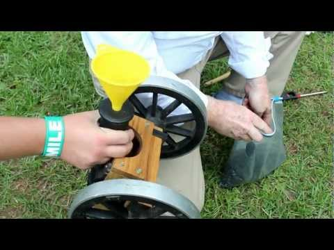 Mini Cannon firing at target