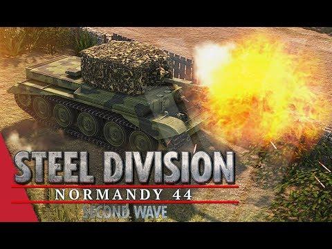 TGPT Round 3! Steel Division: Normandy 44 - Gal_Oneill vs  DNA Maniac (Game 2, Caumont l'Éventé)