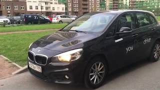 "BMW 2 Active Tourer ""дутый"" хэтч за 2,2 млн - YouTube"
