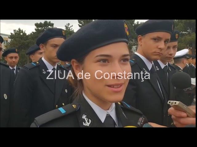 Deschiderea noului an la Colegiul Na?ional Militar