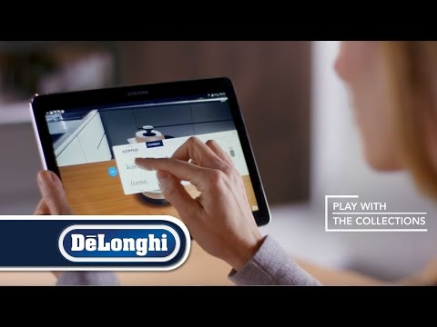De'Longhi Breakfast Collections augmented reality app