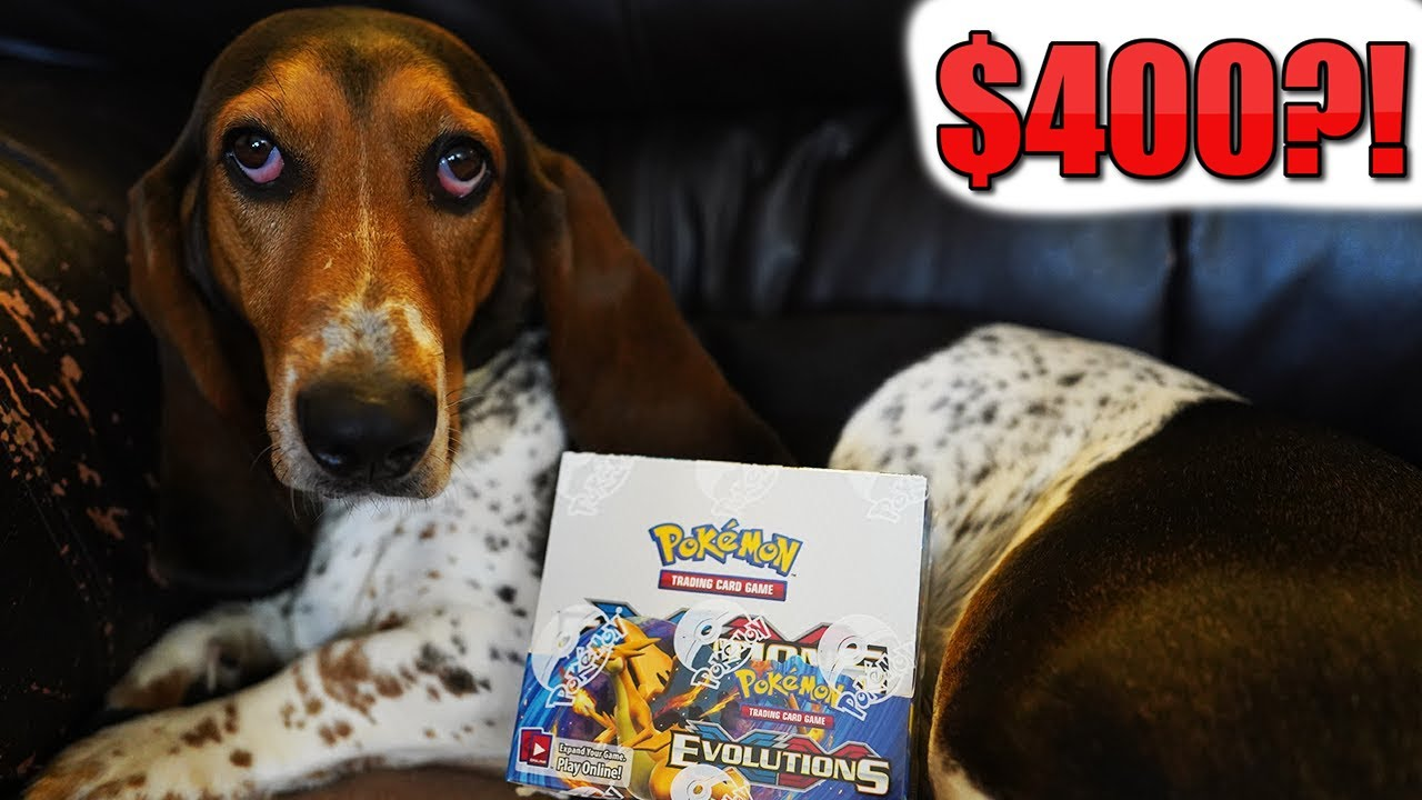 Pokemon XY Evolutions is $400 Per Booster Box Now?!?!