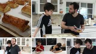 Arnak and Arqa Make Meat Pies - Karkandak - Heghineh Cooking Show