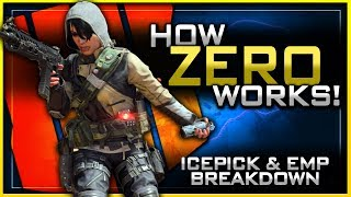 How Zero Works in Black Ops 4! | (Full EMP & Icepick Breakdown)