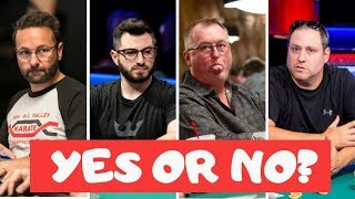 2019 World Series of Poker Fantasy Draft Drama