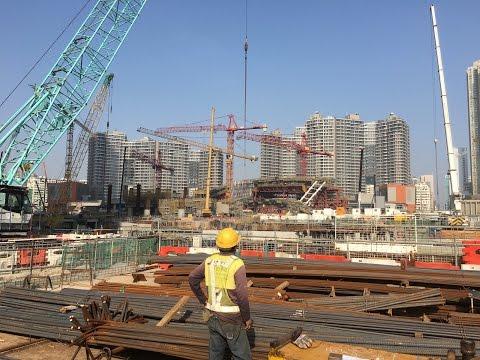 XRL West Kowloon Terminus Construction