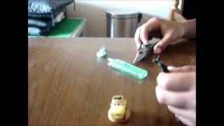 ライター圧電素子の取り出し方 (HD)
