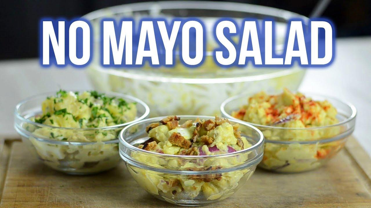 Healthy No-Mayo Potato Salad (3 Toppings)