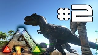 ARK: Survival Evolved - T-Rex Attack! #2