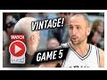 39 Yr-Old Manu Ginobili Game 5 Highlights vs Rockets 2017 Playoffs - 12 Pts, 7 Reb, 5 Ast, EPIC!
