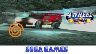 4 Wheel Thunder (Quick Gameplay) Dreamcast