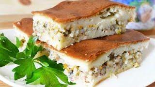 Бюджетный Рыбный Пирог на скорую руку в Мультиварке Вкус блюда Вас приятно удивит