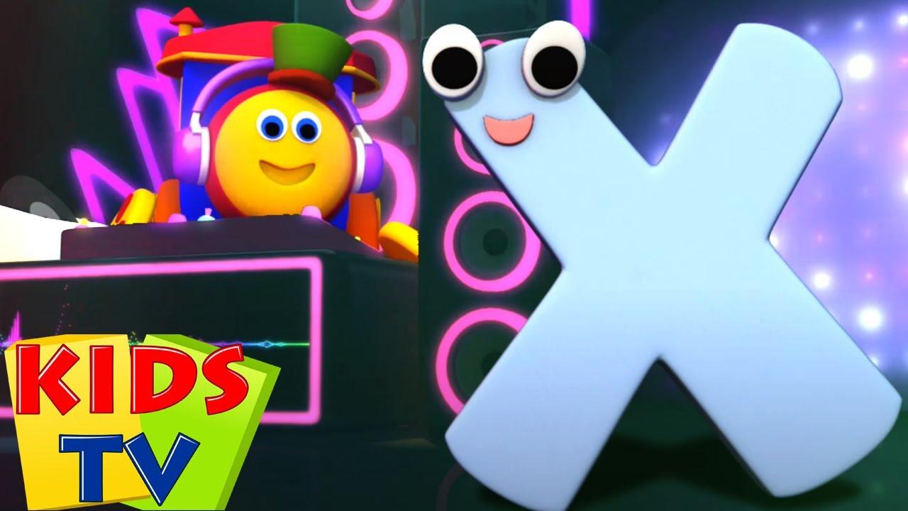 รถไฟบ๊อบ เรียน | ตัวอักษร X | การศีกษาสำหรับเด็ก | การ์ตูน | Kids Tv Thailand | เนอ สเซอรี่ ไรม์