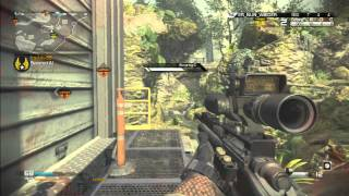 Call of Duty: Ghosts | Sniping gameplay 30-12 Prison Break