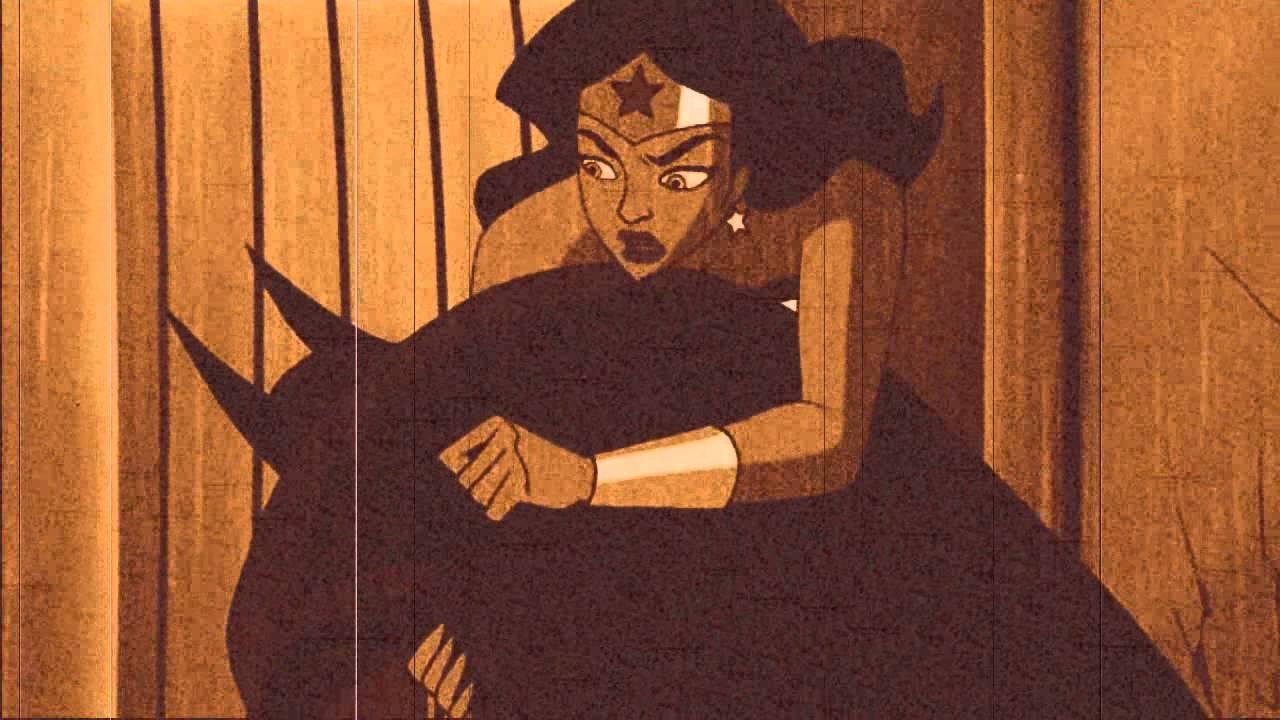wonder woman and batman love