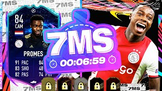 TOTW PACKS!! 84 RTTF QUINCY PROMES!! 7 MINUTE SQUAD BUILDER - FIFA 21 ULTIMATE TEAM