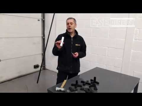 Square tube construction system product demo