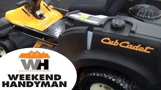 cub cadet rzt s zero turn steering wheel mower   weekend handyman   cub cadet