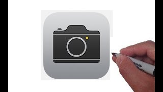 How to Draw the Apple Camera App Logo