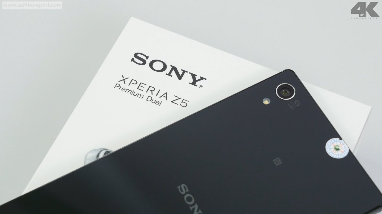 Sony Z5 Premium Review 4K ( Cambo Report )