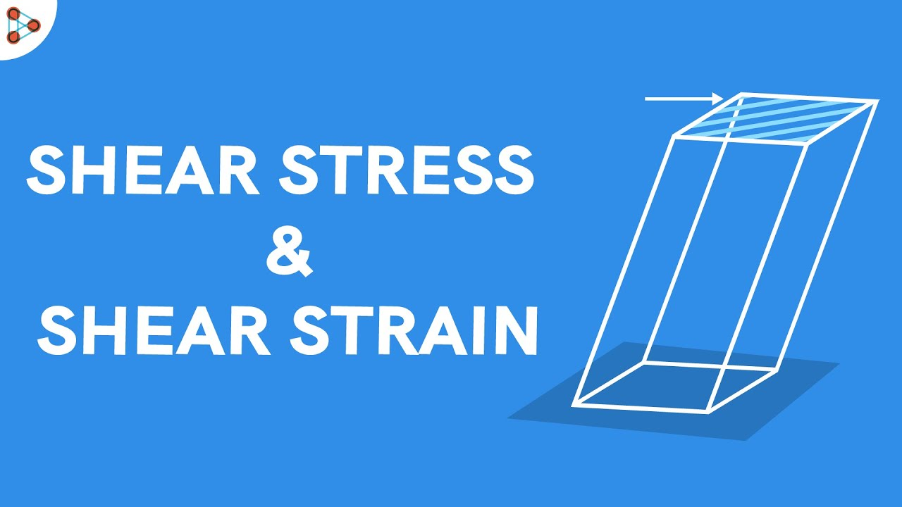 Download Shear Stress and Shear Strain | Mechanical Properties of Solids | Don't Memorise