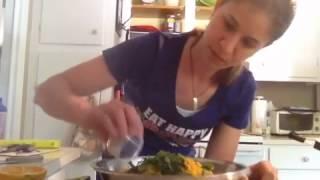 Sweet Potato Pasta- Raw Food Recipe