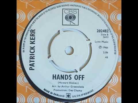 PUREPOP: Patrick Kerr  Hands Off  Obscure Mod Rocker UK 1966