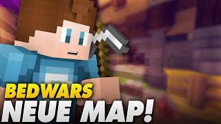 NEUE MAP! ALLE GEGEN UNS! - Bedwars | Minecraft