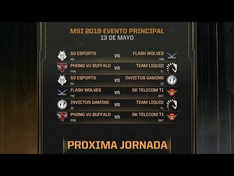 Mid-Season Invitational 2019 // Grupos - Día 3
