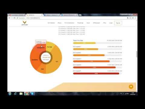 Libereum - токен сосредоточенный на спортивной индустрии, на основе технологий блокчейн