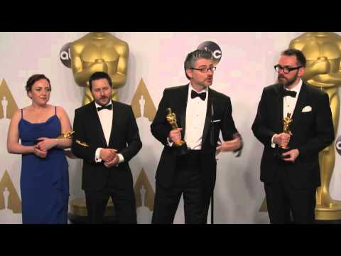 Ex Machina: Andrew Macdonald & Paul Norris (Best Visual Effects) Oscars Backstage Interview (2016)