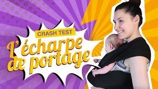 Juliana teste l'écharpe de portage : Je porte mon bébé