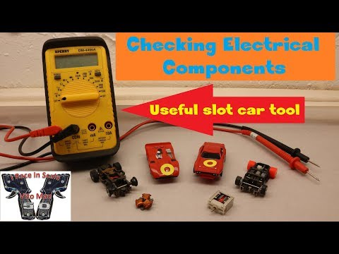 HO Slot Car Tech Tips(EP 4): Checking Electrical Components