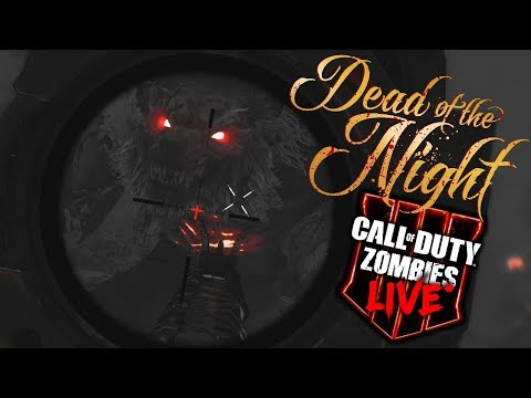 Black Ops 4 Zombies: 'DEAD OF THE NIGHT' - First Live Attempt! w/Syndicate!